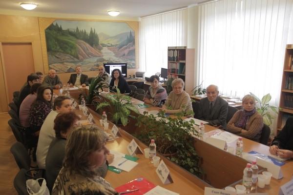Засідання учасників семінару