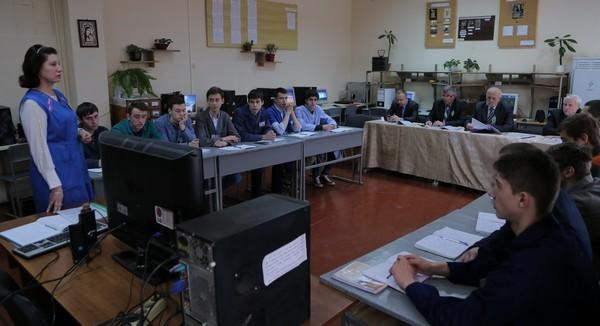 """Урок  на тему """"Робота зі збільшення швидкодії системи ПК"""" проводить майстер в/н  Остафійчук С.М."""