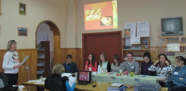 Семінар веде викладач біології та екології Федів Оксана Михайлівна