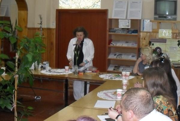 Цікавий семінар проводить практичний психолог Марчак Світлана Дмитрівна