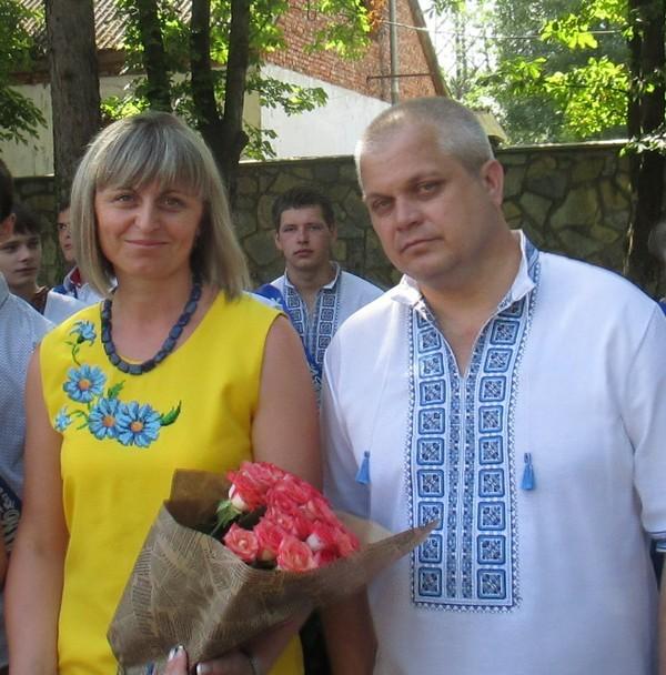 Класний керівник випускної групи КВП-31 Федів О.М. та майстер в/н Верста І.Д.