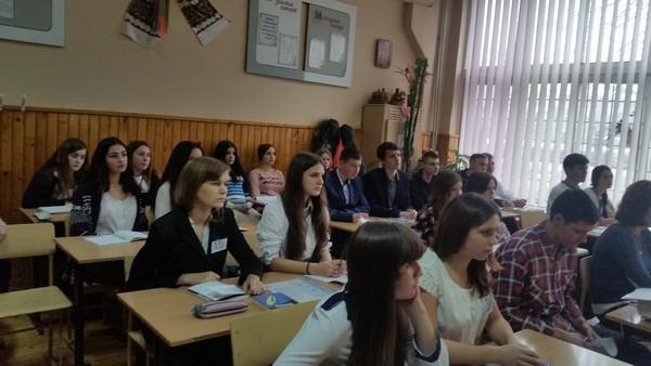 Учні приймали активну участь у обговоренні змісту твору